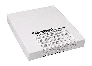 Rollei Infrared 4x5 inch Film (25 sheets)