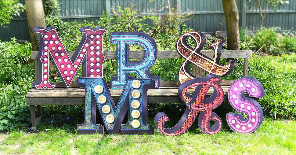 Letters - Theatrical Mr & Mrs