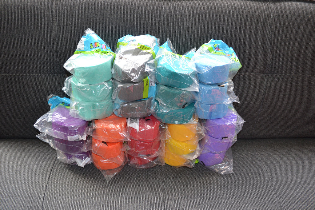 Clearance Crepe Paper Roll Bundle #2