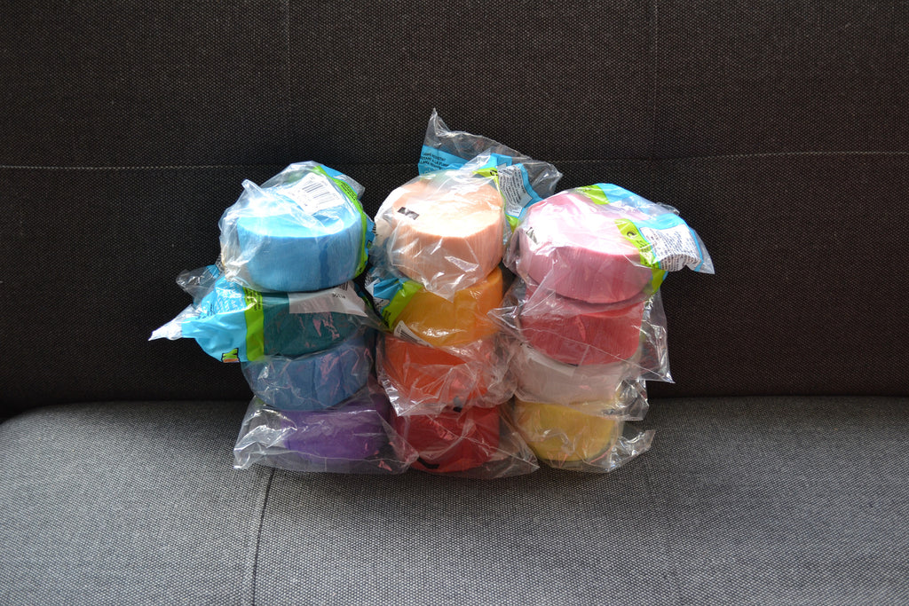 Clearance Crepe Paper Roll Bundle #4
