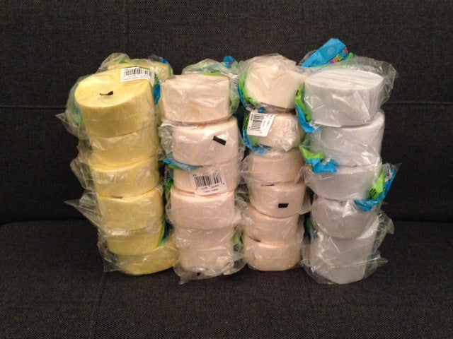 Clearance Crepe Paper Roll Bundle #6