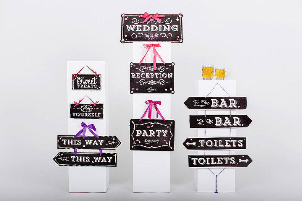 Wedding Sign Collection Chalkboard