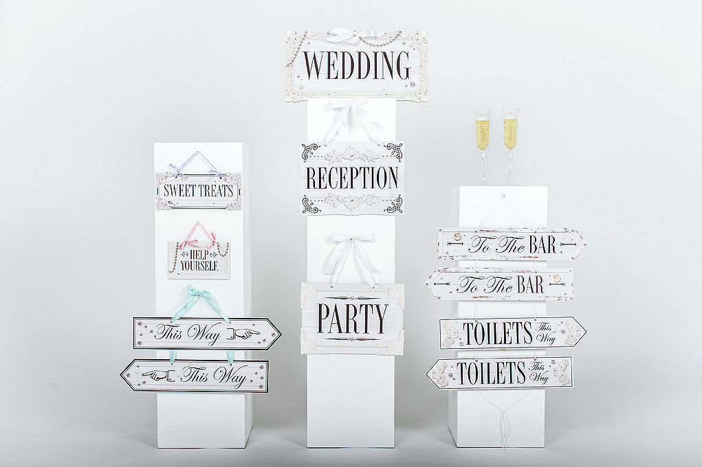 Wedding Sign Collection Classic
