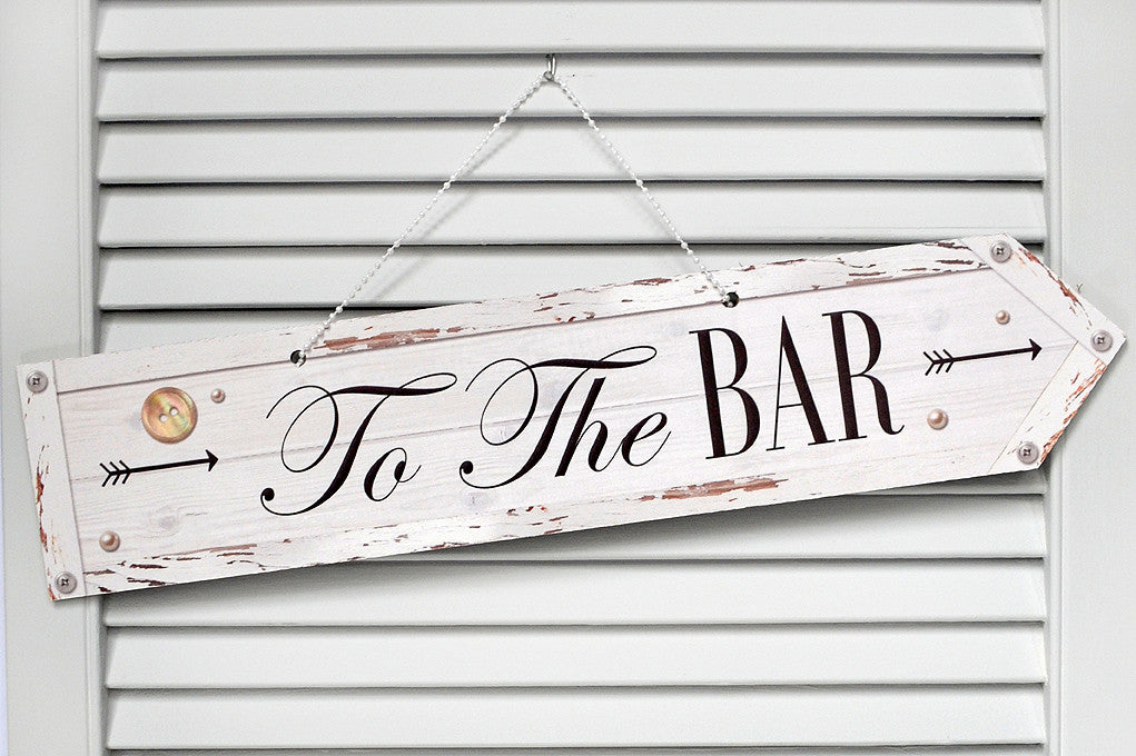 Wedding Sign Bar Classic