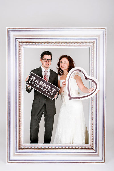 Wedding Photobooth Frame Silver