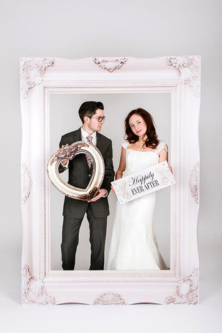 Wedding Photobooth Frame Classic White