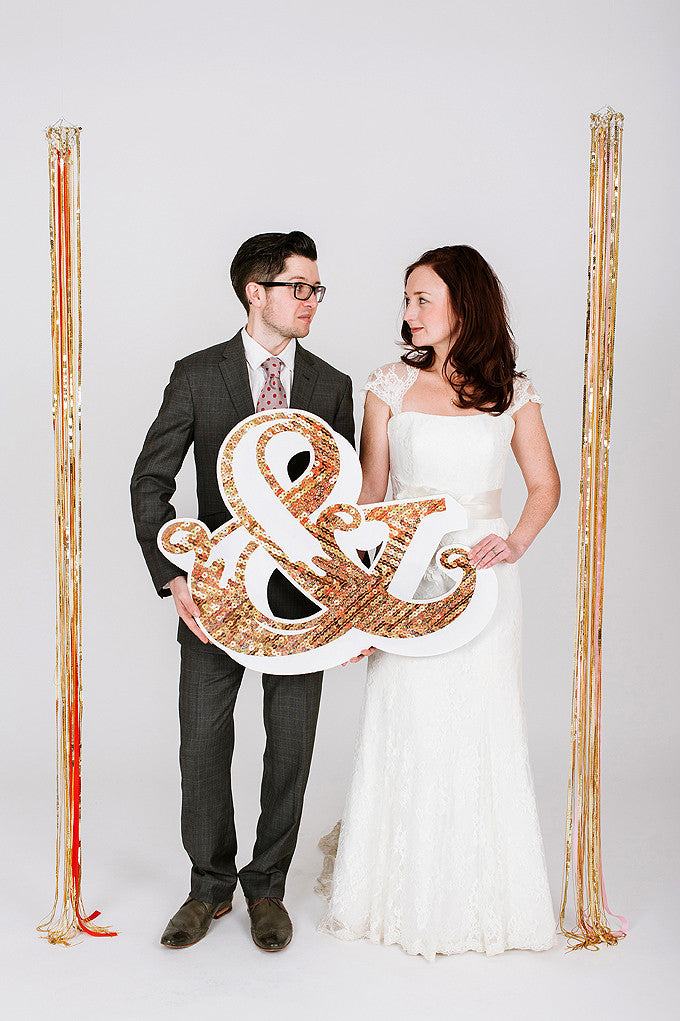 Wedding Large Letters &