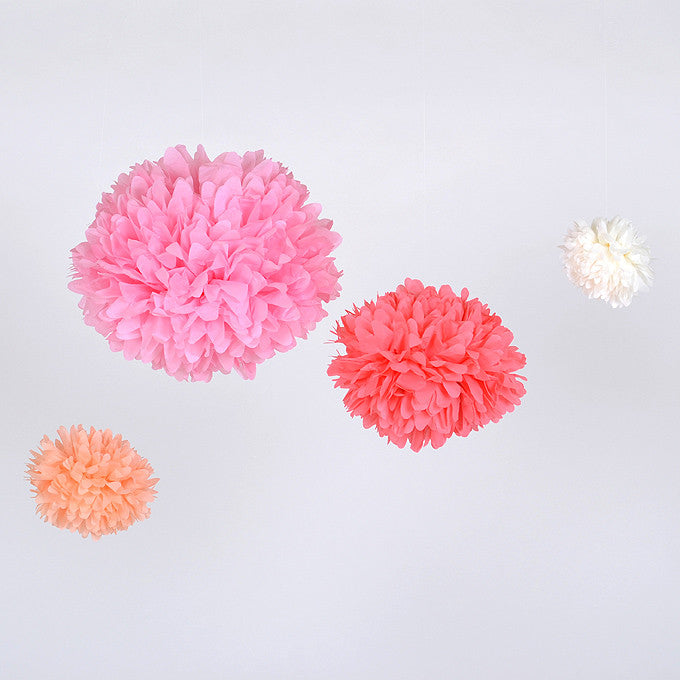 Tissue Paper Pom Pom Wedding and Party Decoration
