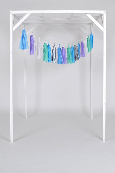 Tissue Paper Tassel Wedding and Party Decoration.