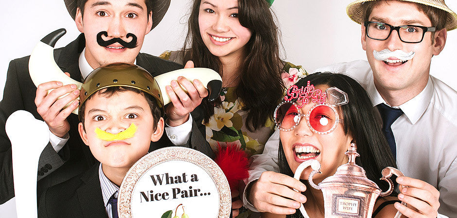 photo booth group images
