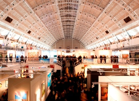 London Art Fair 2015 with 55MAX