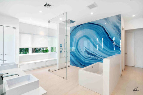 Residential Bathroom Waterproof Aluminium and Acrylic Panel from 55MAX
