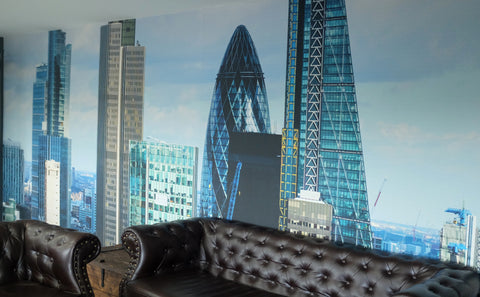 London Bespoke Wallpaper for Offices from 55MAX