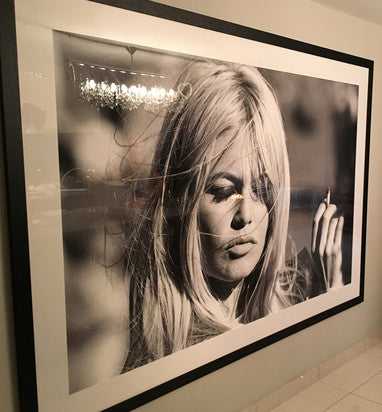 Bardot Smoking - Affordable Art - from 55MAX