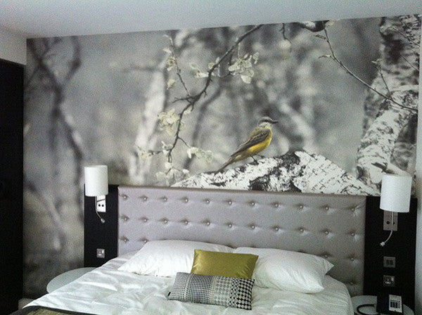 Radisson Blu Hotel Bespoke Wallpaper Design from 55MAX