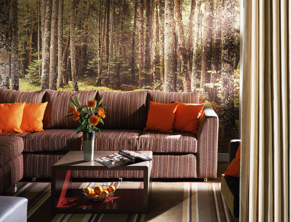 Centre Parcs in the UK - Wallpaper designs by 55MAX