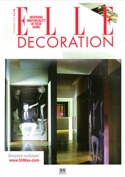 Elle Decoration Magazine features 55MAX Affordable Art