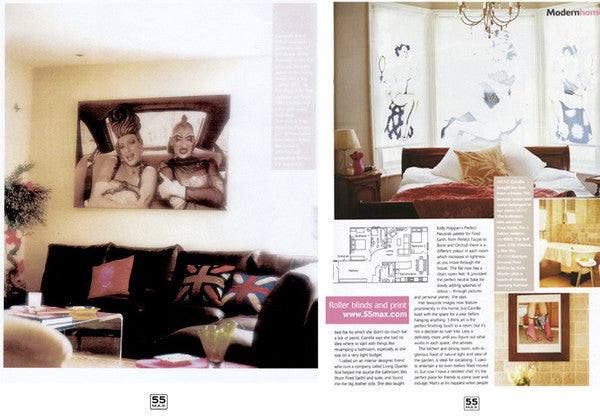 Living Etc Magazine Feature from 2013 with 55MAX