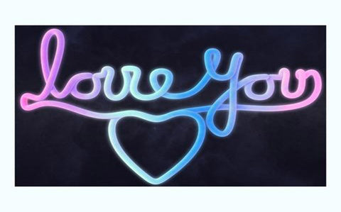 Love You Art Print from 55MAX