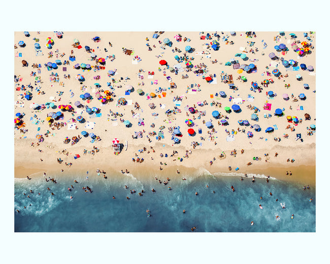 Aerial Beach View Art Print