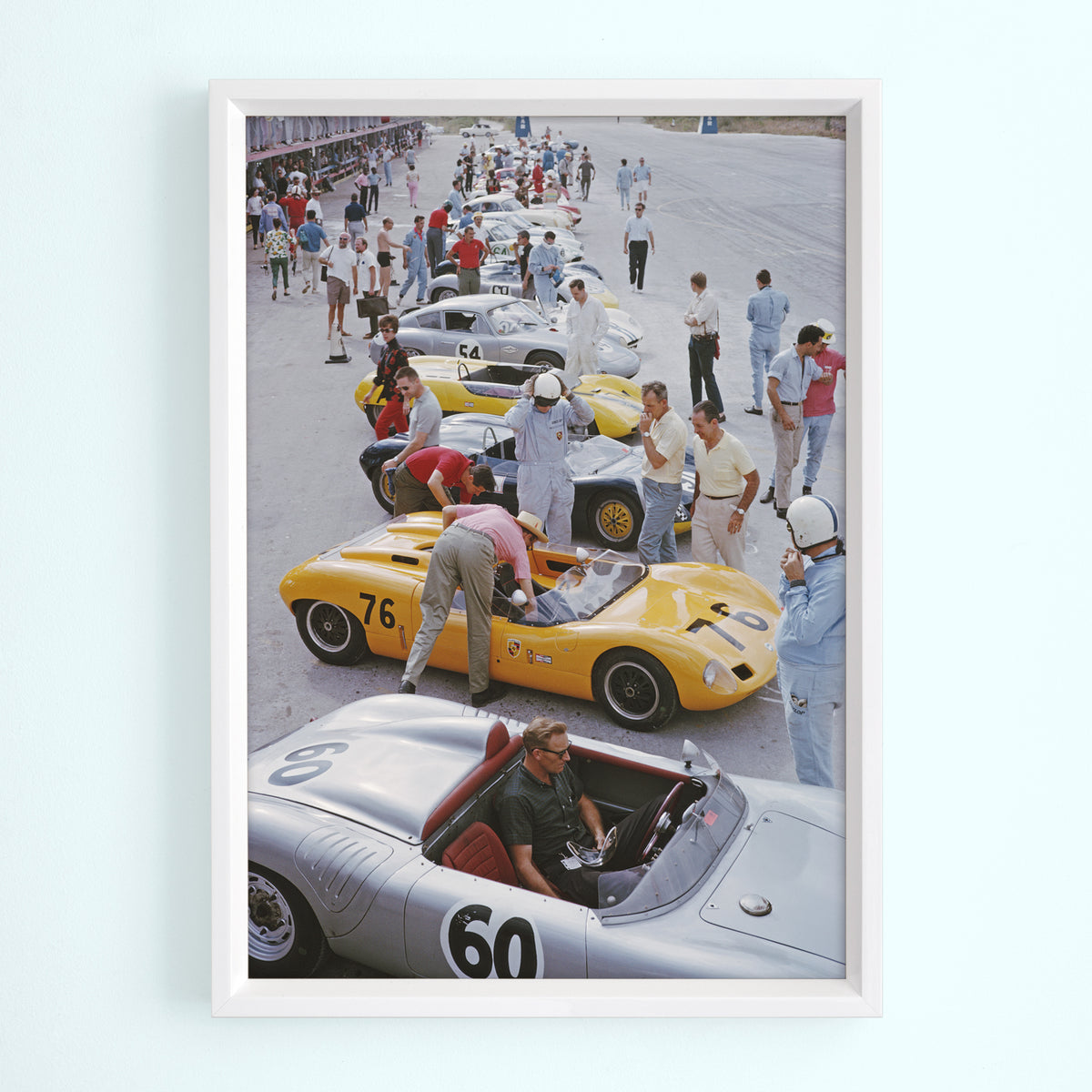 Bahamas Speed Week Art Print