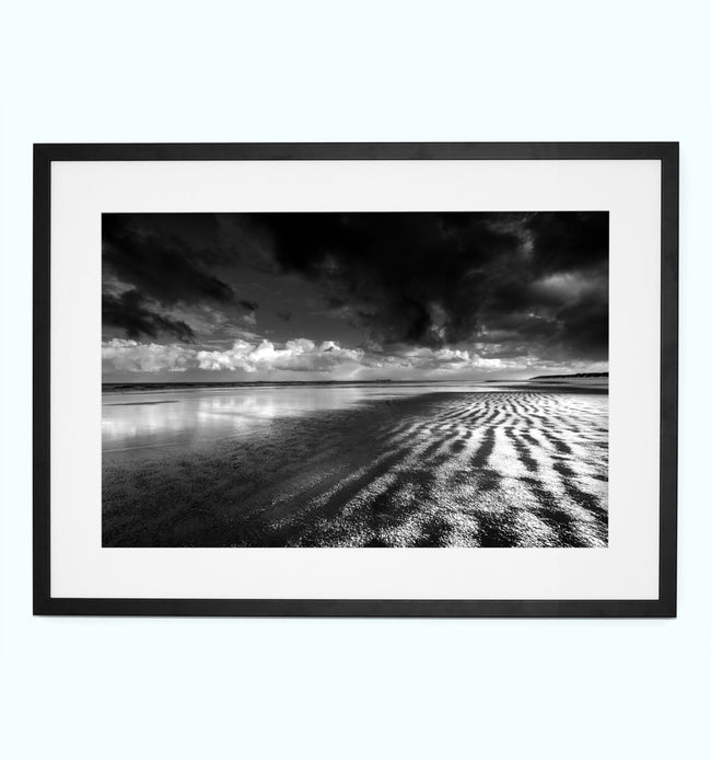 Bamburgh Beach Art Print