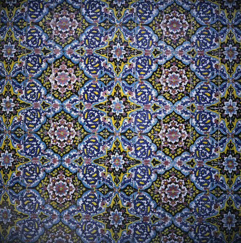 Decorative Tiled Wallpaper