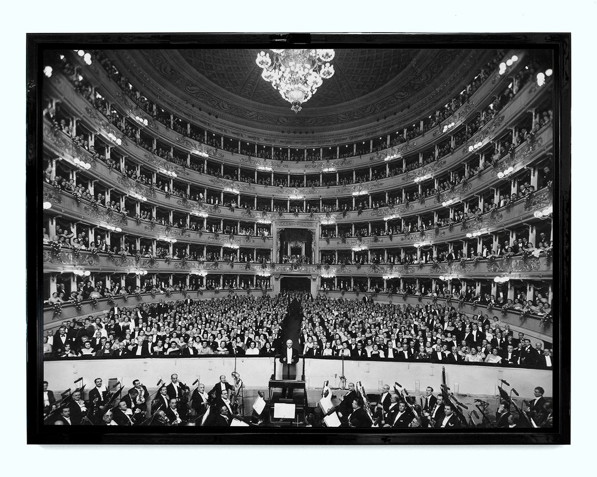 De Sabata At La Scala, 1949 Art Print