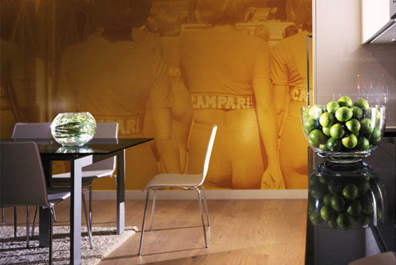 Campari Girl Wall Mural