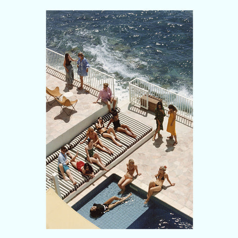 Positano Beach Art Print