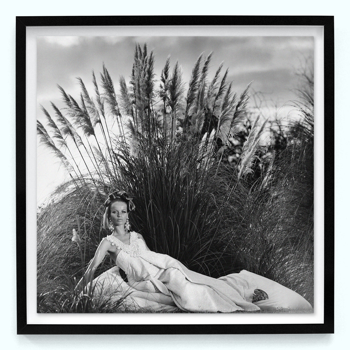 Lady in Rushes
