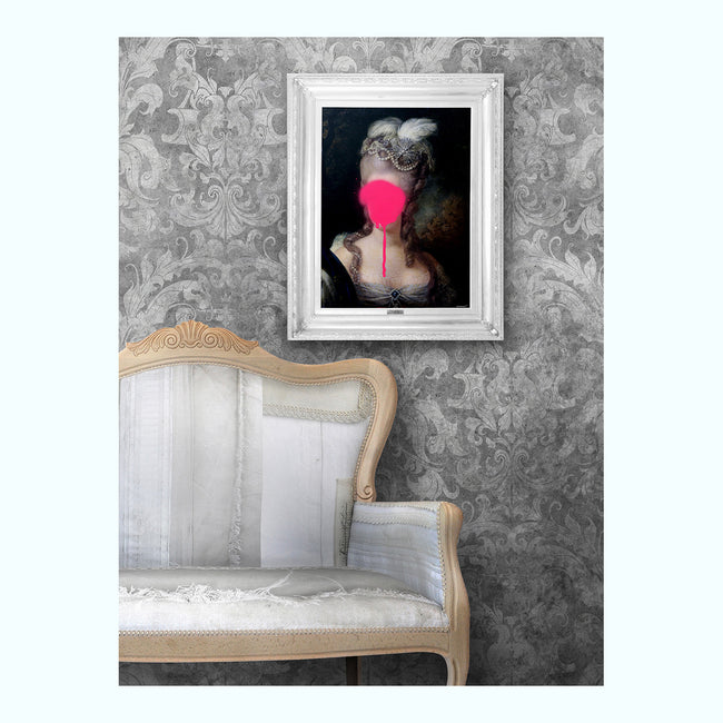 Madame Blush Art Print