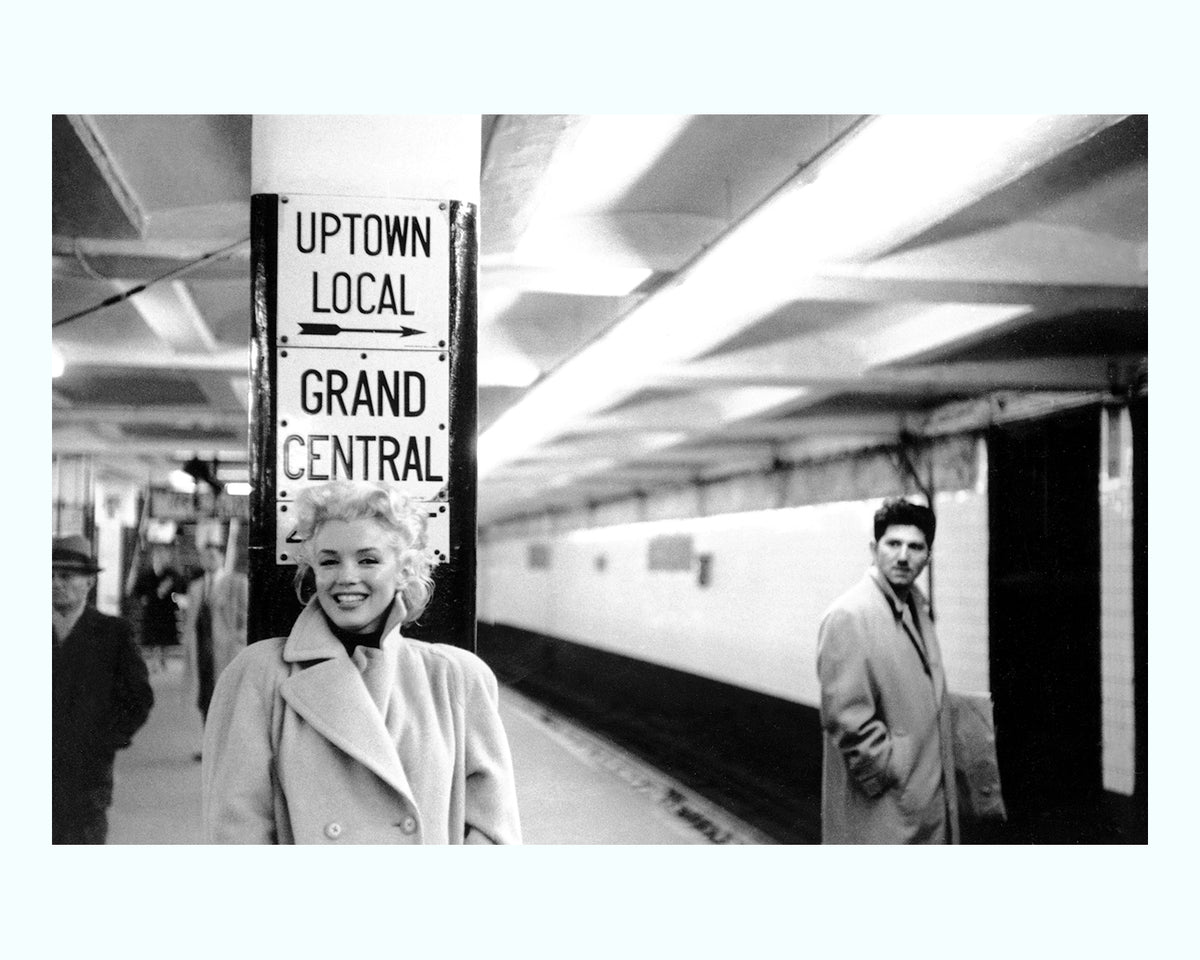 Marilyn Monroe, Grand Central Station Art Print