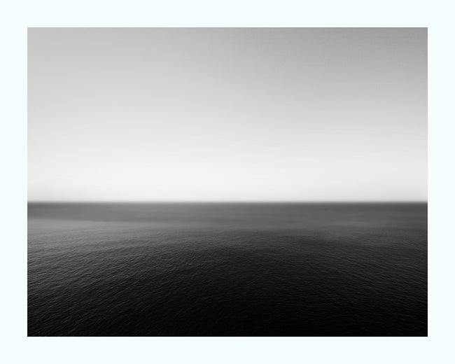 Monochrome Horizon Art Print