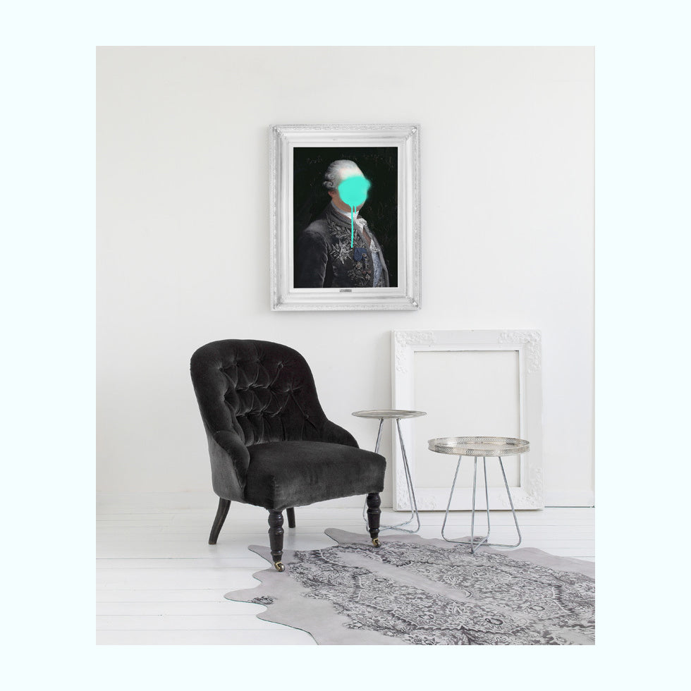 Monsieur Mint Art Print