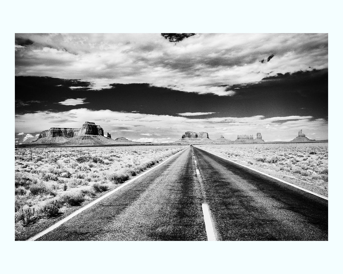 On the Open Road Art Print