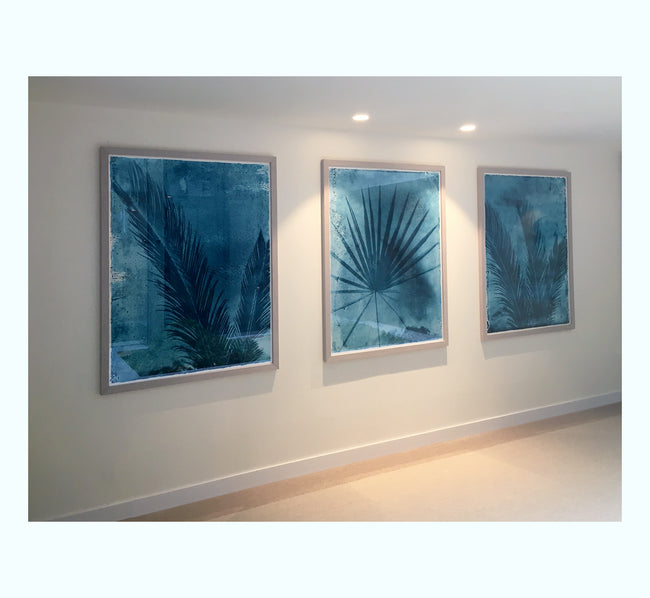 Palmetto Palm Art Print Set