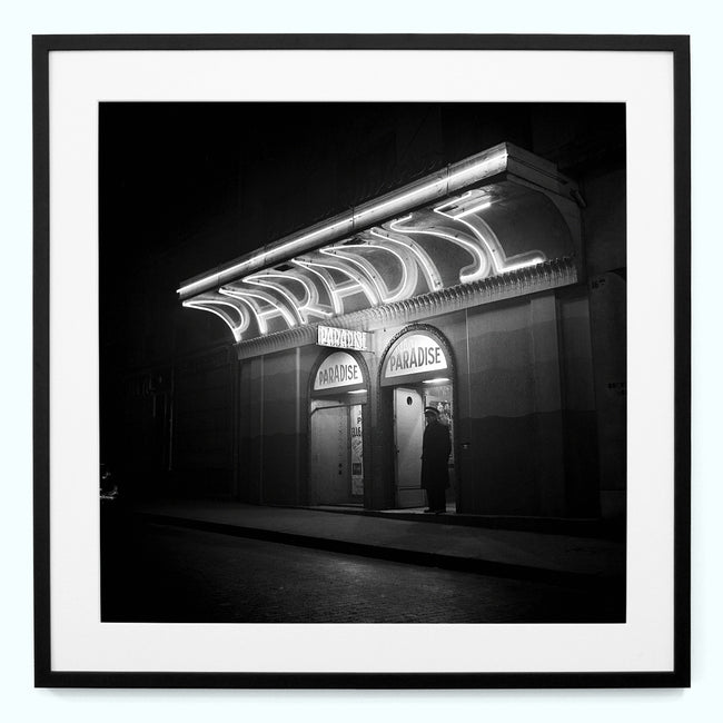 Paradise Nightclub, 1948 Paris Art Print