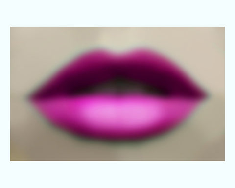 Lets Get Lippy Art Print