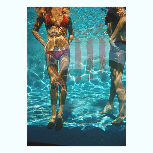 Pool at Las Brisas Art Print