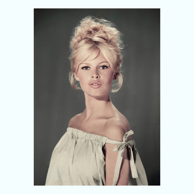 Pouting Bardot Art Print
