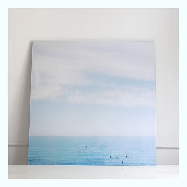 Scenic View of Sea Against Sky Art Print