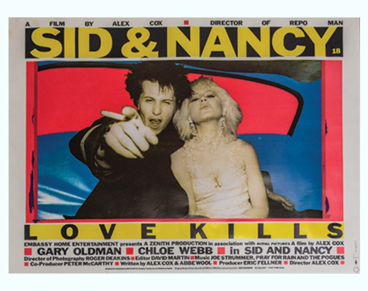 Sid and Nancy Art Print