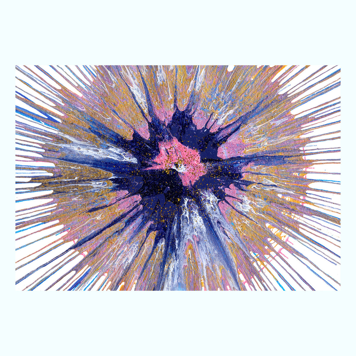 Spin Painting Art Print