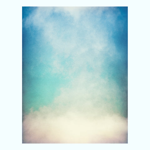 Textured Gradient Fog Art Print