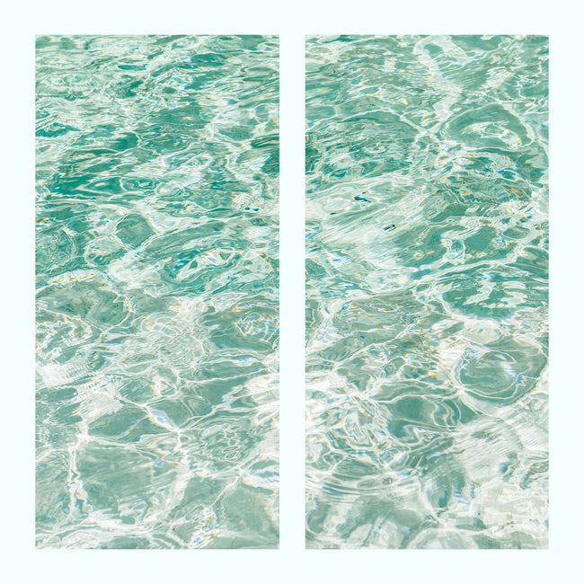 Water Surface Art Print Set