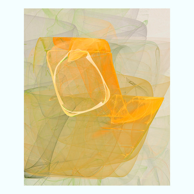 Yellow Graphic 6326 Art Print