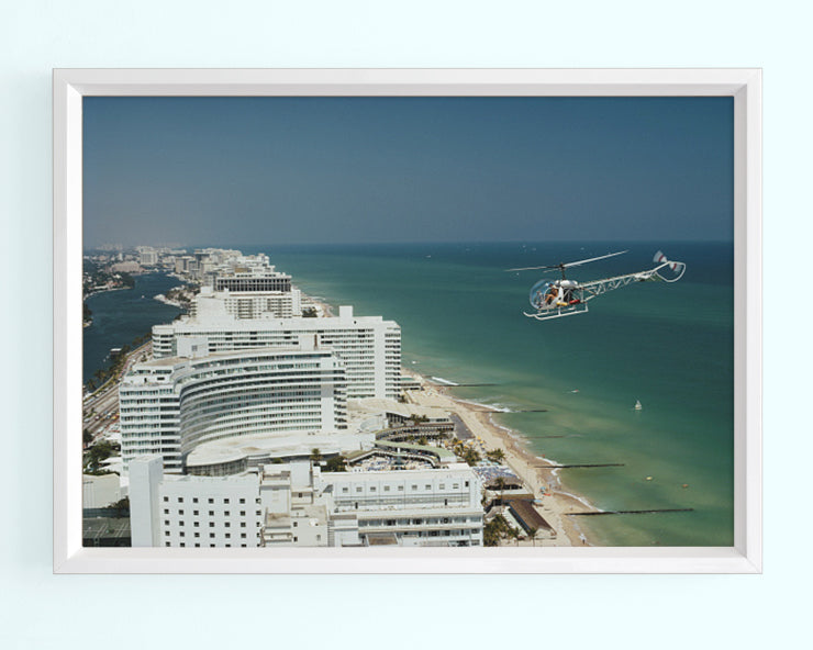Aerial Miami Beach Art Print