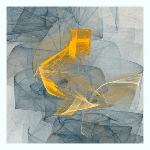 Yellow Square 6841 Art Print