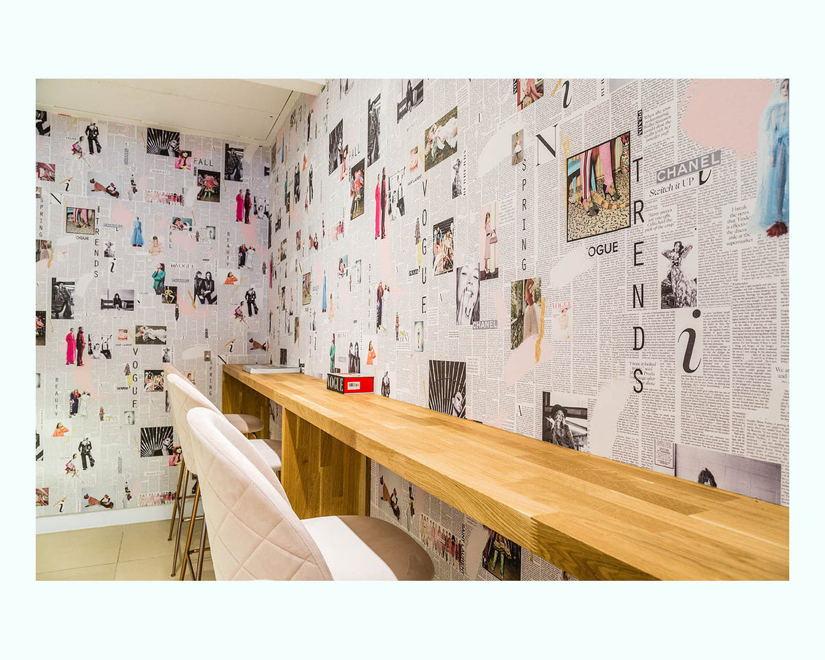 Bespoke Fashion Wallpaper, Infinito Café